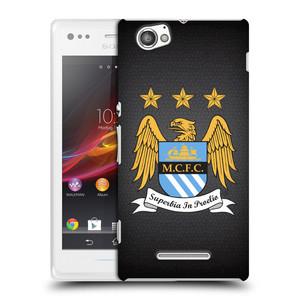 Plastové pouzdro na mobil Sony Xperia M C1905 HEAD CASE Manchester City FC - Superbia In Proelio