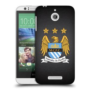 Plastové pouzdro na mobil HTC Desire 510 HEAD CASE Manchester City FC - Superbia In Proelio