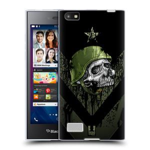 Silikonové pouzdro na mobil Blackberry Leap HEAD CASE LEBKA ONE MAN