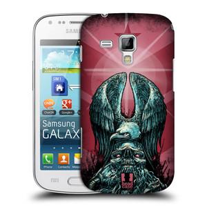 Plastové pouzdro na mobil Samsung Galaxy S Duos HEAD CASE OREL PATRIOIC