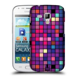Plastové pouzdro na mobil Samsung Galaxy S Duos HEAD CASE Disco mozaika