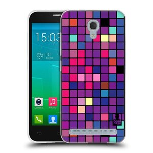 Silikonové pouzdro na mobil Alcatel One Touch Idol 2 Mini S 6036Y HEAD CASE Disco mozaika