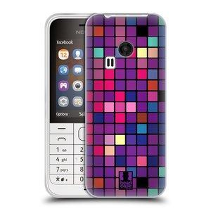 Silikonové pouzdro na mobil Nokia 220 HEAD CASE Disco mozaika
