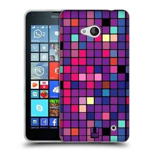 Silikonové pouzdro na mobil Microsoft Lumia 640 HEAD CASE Disco mozaika
