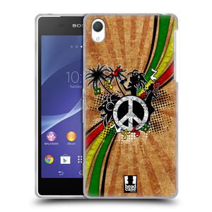 Silikonové pouzdro na mobil Sony Xperia Z2 D6503 HEAD CASE REGGAE