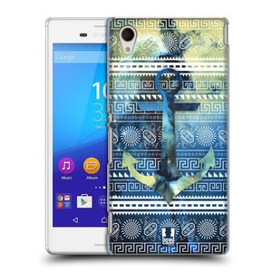 Plastové pouzdro na mobil Sony Xperia M4 Aqua E2303 HEAD CASE NEBULA KOTVA