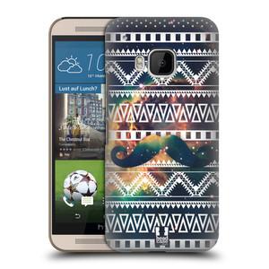 Plastové pouzdro na mobil HTC ONE M9 HEAD CASE AZTEC KNÍR