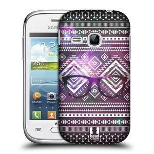 Plastové pouzdro na mobil Samsung Galaxy Young HEAD CASE NEBULA BRÝLE