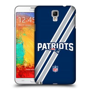 Plastové pouzdro na mobil Samsung Galaxy Note 3 Neo HEAD CASE NFL - New England Patriots