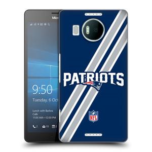 Plastové pouzdro na mobil Microsoft Lumia 950 XL HEAD CASE NFL - New England Patriots