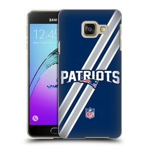 Plastové pouzdro na mobil Samsung Galaxy A3 (2016) HEAD CASE NFL - New England Patriots