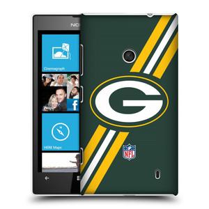Plastové pouzdro na mobil Nokia Lumia 520 HEAD CASE NFL - Green Bay Packers