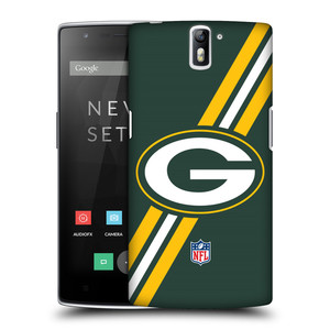 Plastové pouzdro na mobil OnePlus One HEAD CASE NFL - Green Bay Packers