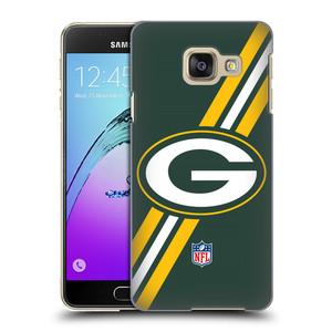 Plastové pouzdro na mobil Samsung Galaxy A3 (2016) HEAD CASE NFL - Green Bay Packers