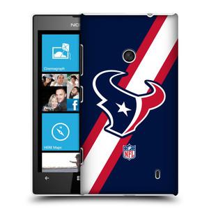 Plastové pouzdro na mobil Nokia Lumia 520 HEAD CASE NFL - Houston Texans
