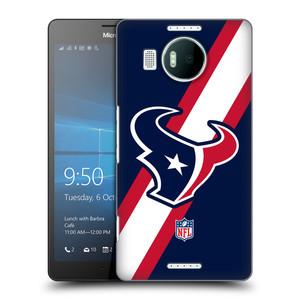 Plastové pouzdro na mobil Microsoft Lumia 950 XL HEAD CASE NFL - Houston Texans