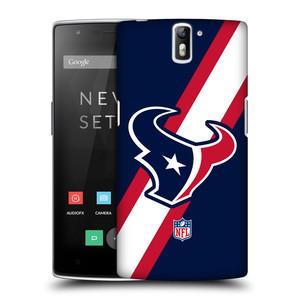 Plastové pouzdro na mobil OnePlus One HEAD CASE NFL - Houston Texans