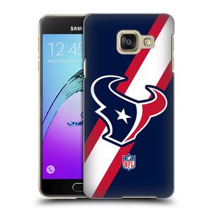 Plastové pouzdro na mobil Samsung Galaxy A3 (2016) HEAD CASE NFL - Houston Texans