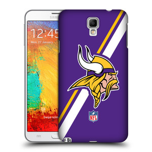 Plastové pouzdro na mobil Samsung Galaxy Note 3 Neo HEAD CASE NFL - Minnesota Vikings