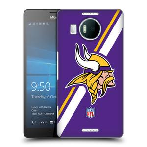 Plastové pouzdro na mobil Microsoft Lumia 950 XL HEAD CASE NFL - Minnesota Vikings