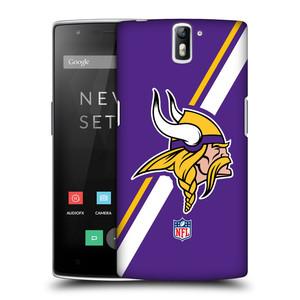 Plastové pouzdro na mobil OnePlus One HEAD CASE NFL - Minnesota Vikings