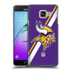Plastové pouzdro na mobil Samsung Galaxy A3 (2016) HEAD CASE NFL - Minnesota Vikings