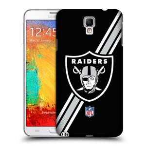 Plastové pouzdro na mobil Samsung Galaxy Note 3 Neo HEAD CASE NFL - Oakland Raiders