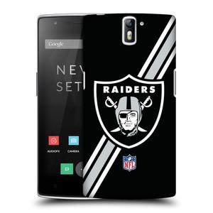 Plastové pouzdro na mobil OnePlus One HEAD CASE NFL - Oakland Raiders