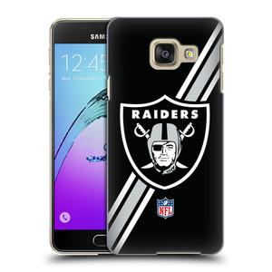 Plastové pouzdro na mobil Samsung Galaxy A3 (2016) HEAD CASE NFL - Oakland Raiders