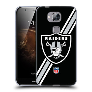 Silikonové pouzdro na mobil Huawei G8 / GX8 HEAD CASE NFL - Oakland Raiders