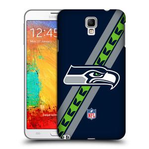 Plastové pouzdro na mobil Samsung Galaxy Note 3 Neo HEAD CASE NFL - Seattle Seahawks