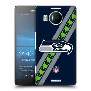 Plastové pouzdro na mobil Microsoft Lumia 950 XL HEAD CASE NFL - Seattle Seahawks