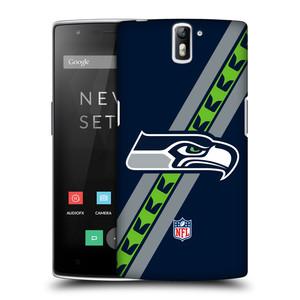 Plastové pouzdro na mobil OnePlus One HEAD CASE NFL - Seattle Seahawks