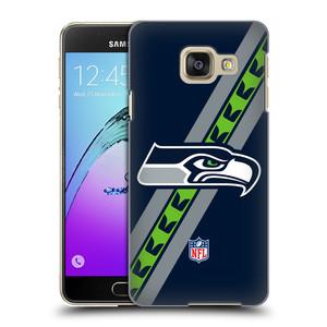 Plastové pouzdro na mobil Samsung Galaxy A3 (2016) HEAD CASE NFL - Seattle Seahawks