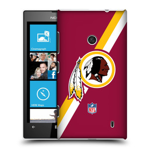 Plastové pouzdro na mobil Nokia Lumia 520 HEAD CASE NFL - Washington Redskins