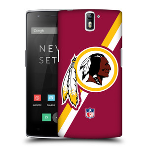 Plastové pouzdro na mobil OnePlus One HEAD CASE NFL - Washington Redskins