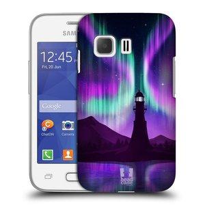 Plastové pouzdro na mobil Samsung Galaxy Young 2 HEAD CASE POLÁRNÍ ZÁŘE MAJÁK