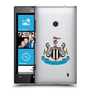Plastové pouzdro na mobil Nokia Lumia 520 HEAD CASE Newcastle United FC - Čiré