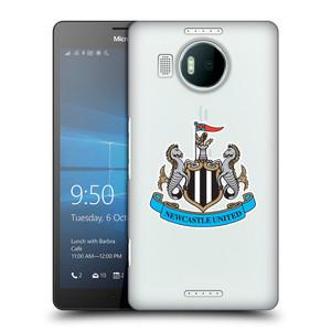 Plastové pouzdro na mobil Microsoft Lumia 950 XL HEAD CASE Newcastle United FC - Čiré