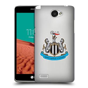 Plastové pouzdro na mobil LG Bello II HEAD CASE Newcastle United FC - Čiré