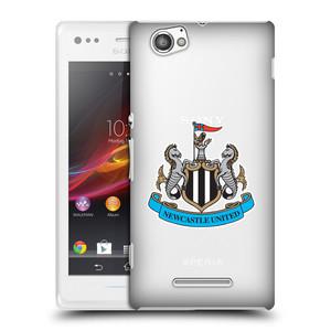 Plastové pouzdro na mobil Sony Xperia M C1905 HEAD CASE Newcastle United FC - Čiré