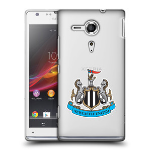 Plastové pouzdro na mobil Sony Xperia SP C5303 HEAD CASE Newcastle United FC - Čiré