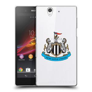 Plastové pouzdro na mobil Sony Xperia Z C6603 HEAD CASE Newcastle United FC - Čiré