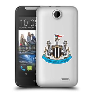 Plastové pouzdro na mobil HTC Desire 310 HEAD CASE Newcastle United FC - Čiré