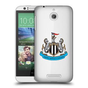Plastové pouzdro na mobil HTC Desire 510 HEAD CASE Newcastle United FC - Čiré