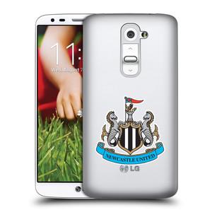 Plastové pouzdro na mobil LG G2 HEAD CASE Newcastle United FC - Čiré