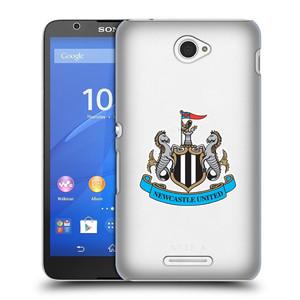Plastové pouzdro na mobil Sony Xperia E4 E2105 HEAD CASE Newcastle United FC - Čiré