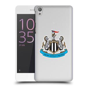 Plastové pouzdro na mobil Sony Xperia E5 HEAD CASE Newcastle United FC - Čiré