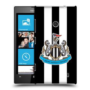 Plastové pouzdro na mobil Nokia Lumia 520 HEAD CASE Newcastle United FC - Pruhy