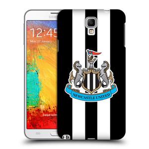 Plastové pouzdro na mobil Samsung Galaxy Note 3 Neo HEAD CASE Newcastle United FC - Pruhy